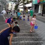 夏休み子供イベント「中川を涼しく楽しもう」に120人参加
