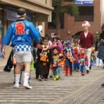 「中川 ハロウィンまち歩き」で賑わう