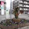 「春を待つブーケ」花壇完成