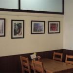 ほっとカフェの写真展示コーナー