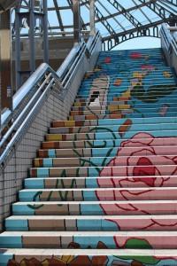 ★階段アート