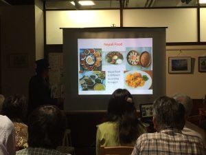 ネパールの料理を説明