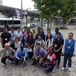 アジア・アフリカの都市計画専門家が中川のまちづくり見学