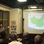 都市大留学生カフェ開催  テーマ:「武漢の暮らしと環境」