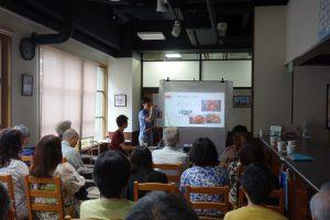 留学性カフェ2017年7月5日韓国の暮らしと環境 料理