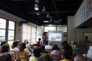 留学性カフェ2017年7月5日韓国の暮らしと環境 韓服