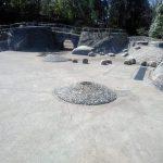 山崎公園 水の出ない噴水施設の改善工事説明