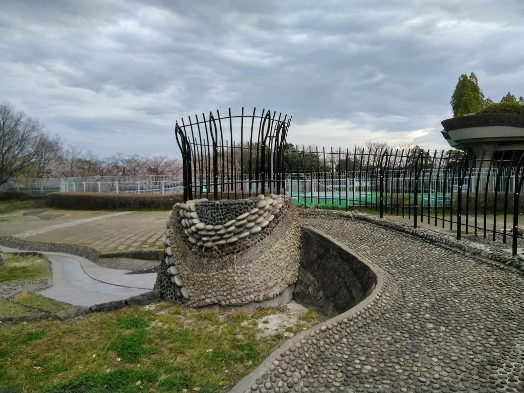 山崎公園の水景がリニューアルオープン